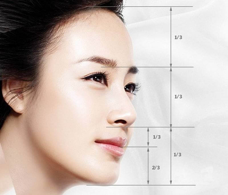 Tiêu chuẩn của 1 chiếc mũi đẹp tự nhiên
