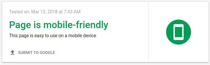 Kiểm tra tính thân thiện mobile với Google