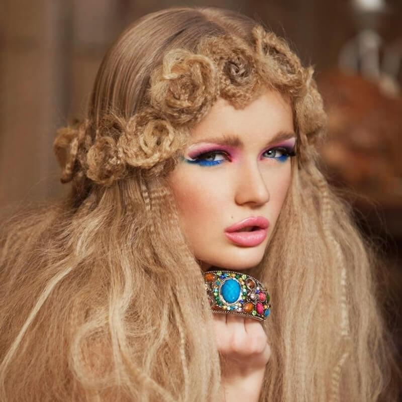 Mẫu tết tóc mái đẹp cho ngày năng động