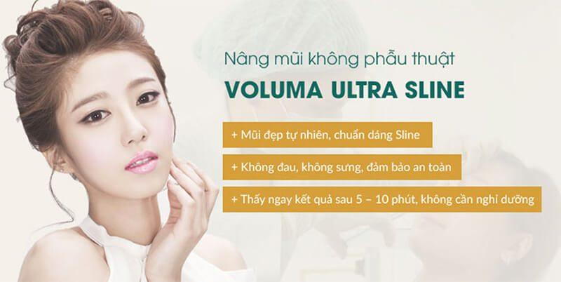 Nâng mũi không phẫu thuật Voluma Ultra Sline là gì?