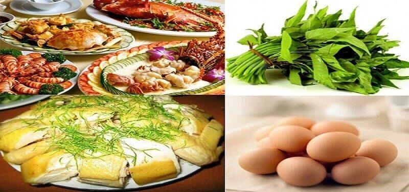 Các loại thực phẩm gây ảnh hưởng tới tính thẩm mỹ của vùng da mắt sau nhấn mí, nên tránh