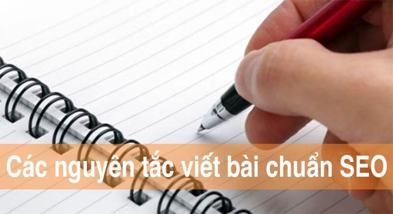 Các nguyên tắc cơ bản để viết nội dung chuẩn SEO