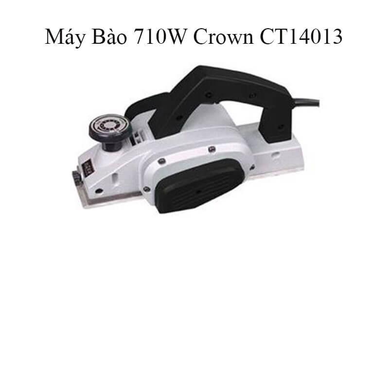 Giới thiệu về sản phẩm máy bào 710W Crown CT14013