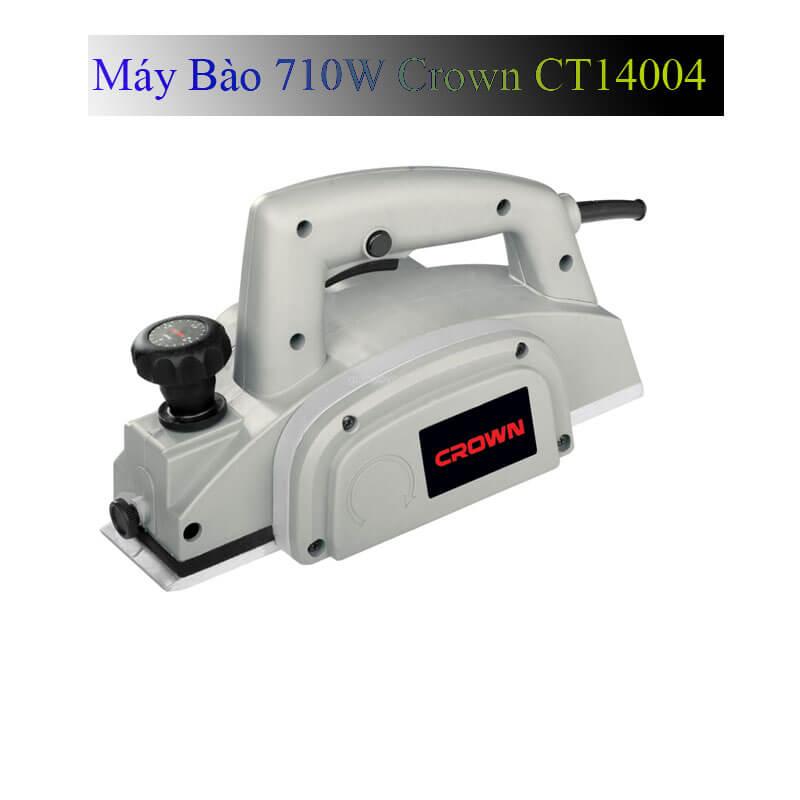 Giới thiệu về sản phẩm máy bào gỗ Crown CT14004