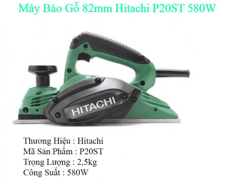 Thông tin về máy bào gỗ 82MM Hitachi P20ST