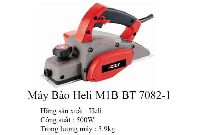 Thông tin về sản phẩm máy bào Heli M1B BT 7082-1