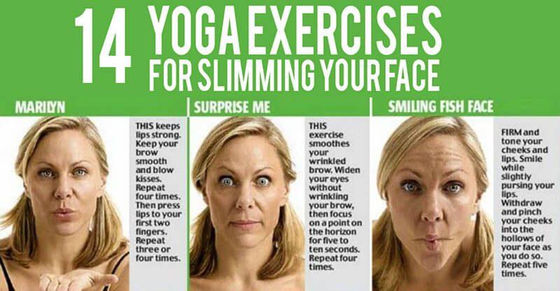 Bài yoga cho mặt