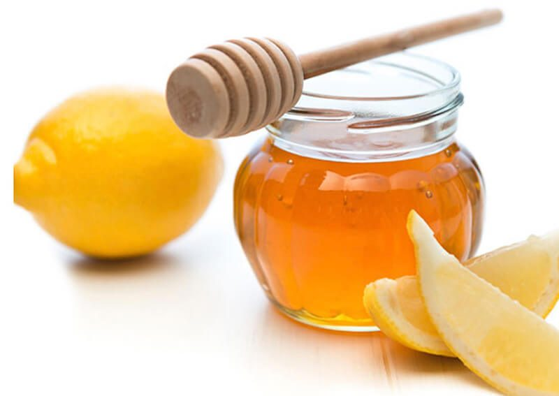 Chanh và mật ong để tẩy lông nách