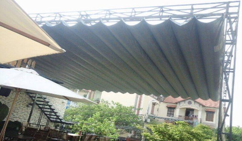 Sử dụng mái xếp lượn sóng An Phát luôn được bảo hành lâu dài