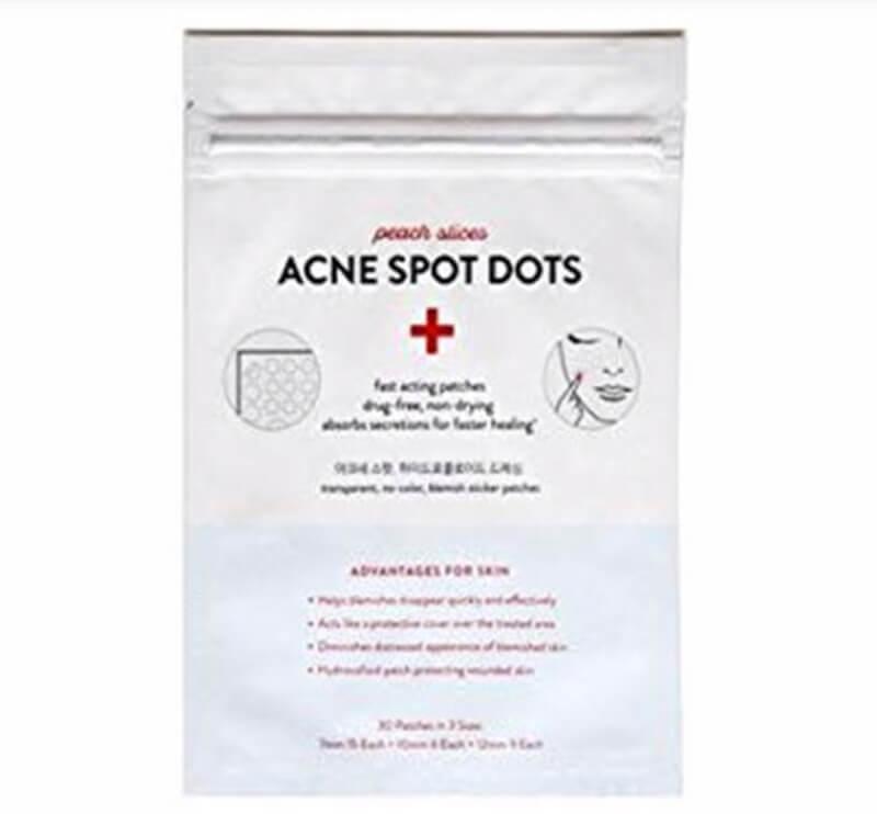 Peach Slices Acne Spot Dot