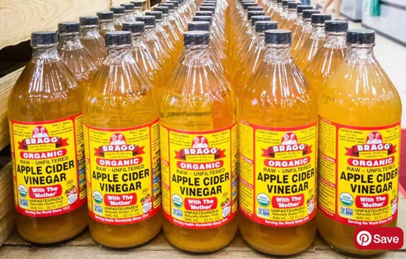 Giấm táo và hỗn hợp quả mọng