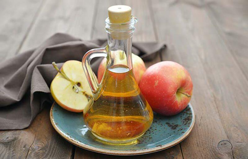 Giấm táo và vỏ chuối