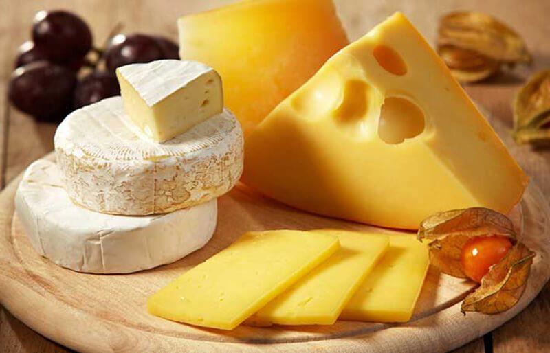 Sản phẩm từ sữa: Kem, phô mai và socola