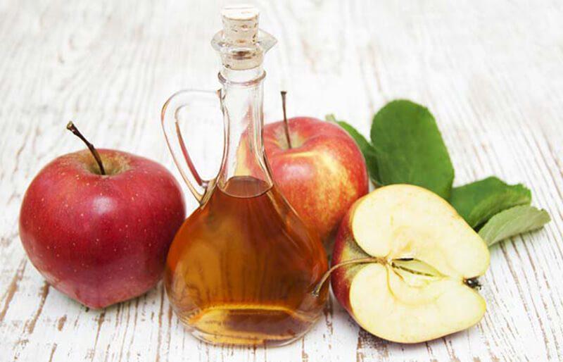 Nha đam và giấm táo