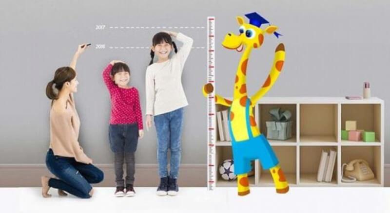 Cách ước lượng chiều cao cân nặng theo độ tuổi