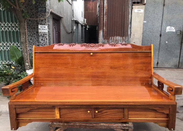 Ghế kéo thành giường bằng gỗ là gì và vì sao nó lại được ưa chuộng