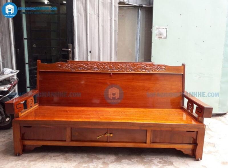 Mẫu ghế sofa kéo thành giường giá rẻ GR01