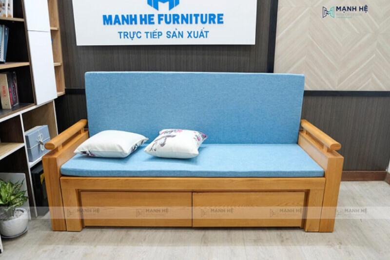 Mẫu Sofa Kéo Thành Giường SE01 tại Mạnh Hệ Sofa