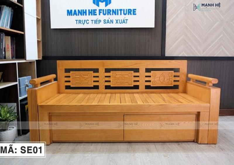Giường gỗ đa năng SE01
