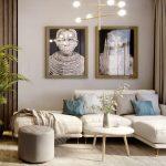 Thiết kế trang trí phòng khách nhỏ màu gì đẹp?