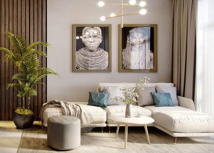 Thiết kế trang trí phòng khách nhỏ màu gì đẹp? Mẹo hay từ chuyên gia
