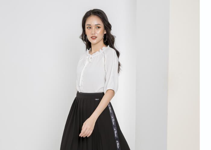 Top 10 kiểu áo sơ mi công sở nữ dễ thương mặc lên là đẹp