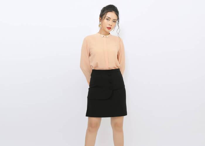 Top 5 mẫu chân váy công sở đẹp miễn chê dành cho chị em văn phòng