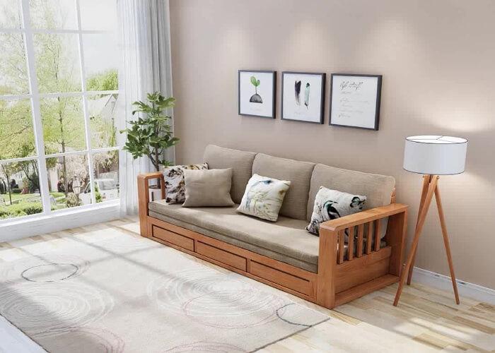 Top 5 ghế sofa kết hợp giường ngủ dành cho nhà nhỏ hot nhất Mạnh Hệ